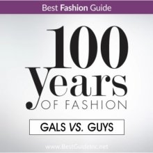 100 Years of Fashion: Gals vs. Guys