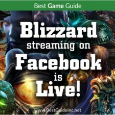 Blizzard streaming on Facebook is live