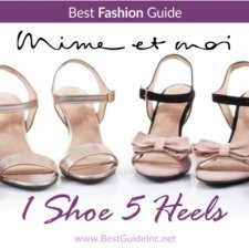 Mime et moi shoes - 1 shoe 5 heels