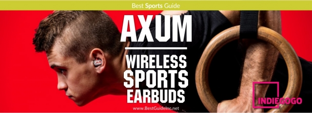 Axum - Wireless Sports Earbuds