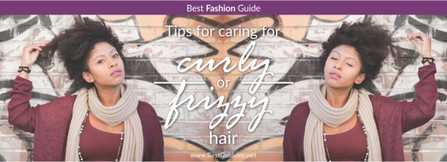 Tips for caring for curly or frizzy hair