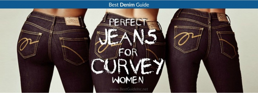 Perfect jeans for curvy women