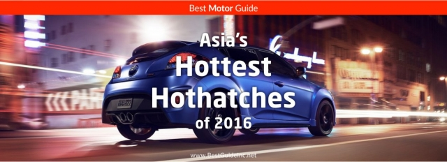 Asia's hottest hatchbacks of 2016