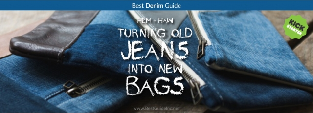 Hem + Haw: Turning old jeans into new bags